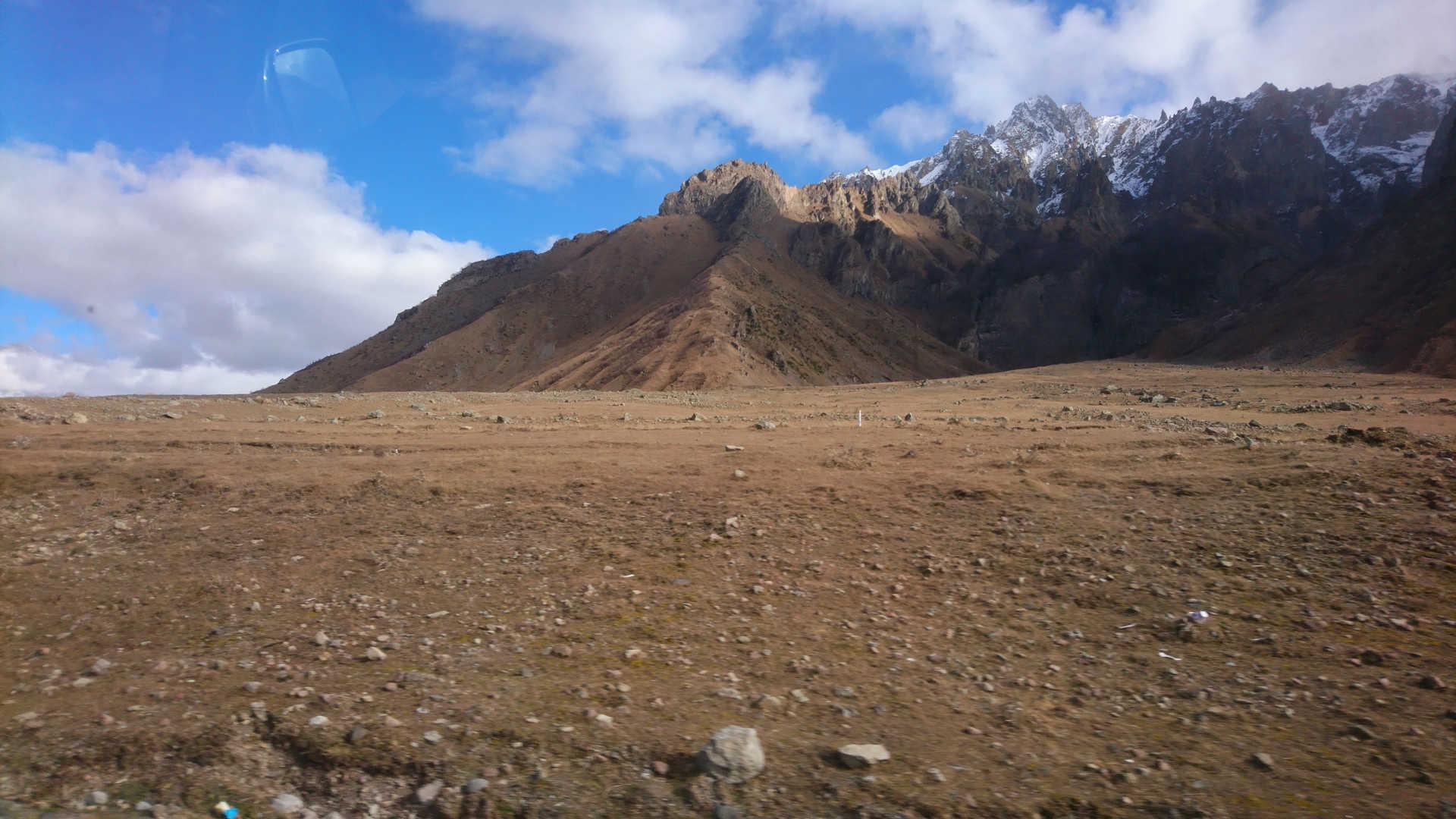 Gruzinska Droga Wojenna - góry