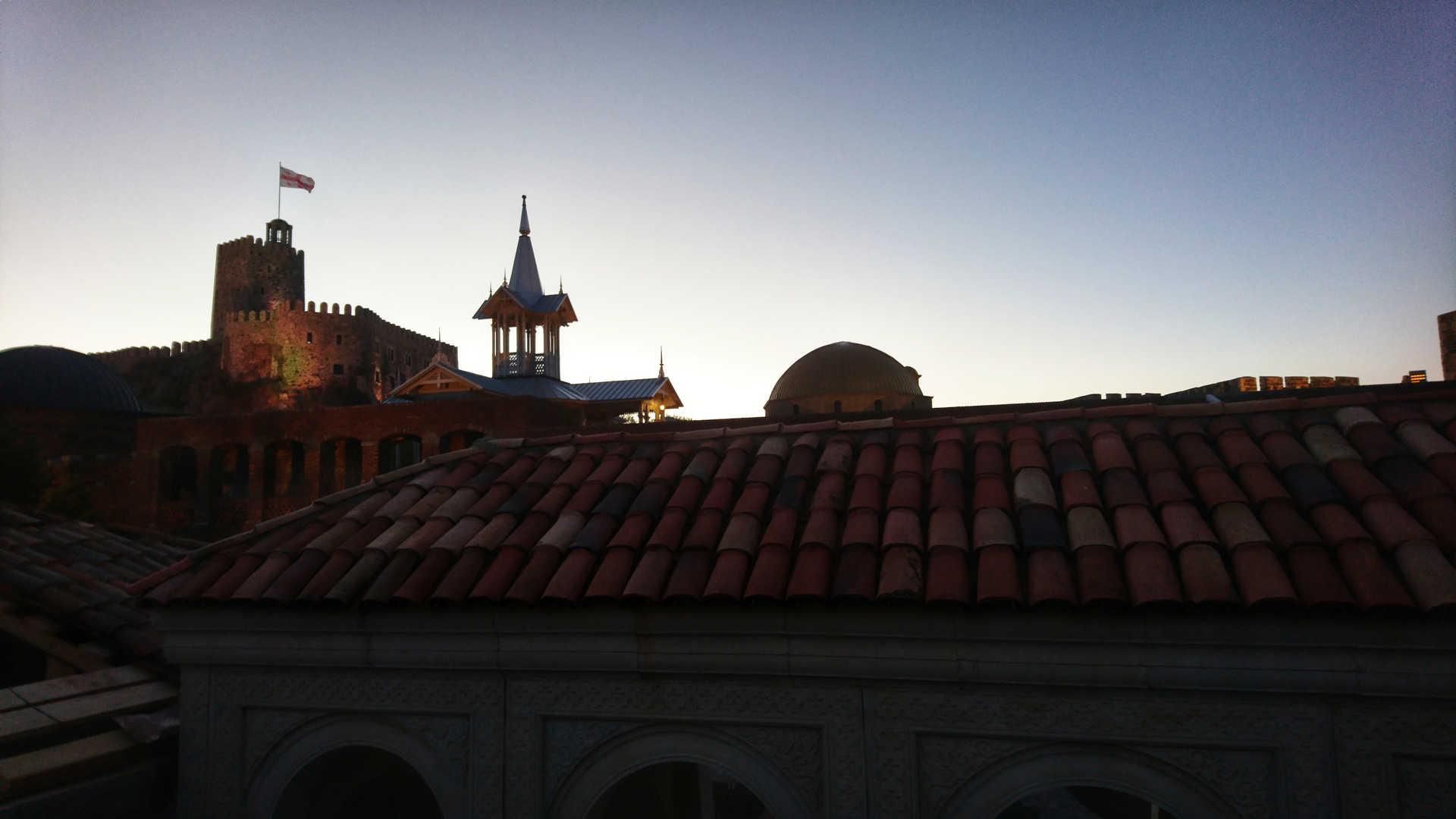 Akhaltsikhe - widok na dach