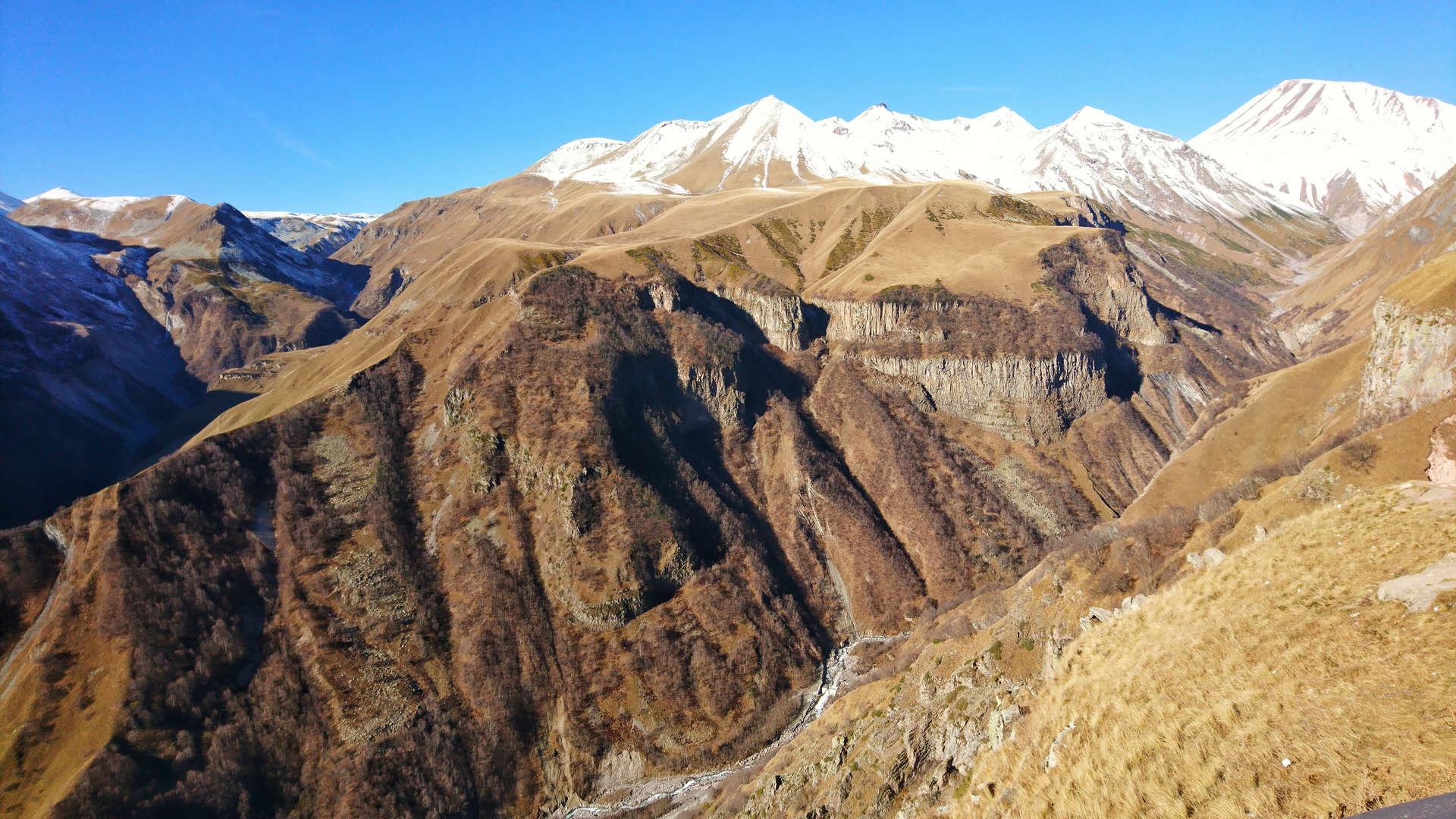 Zwiedzanie Tbilisi - przełęcz krzyżowa 2