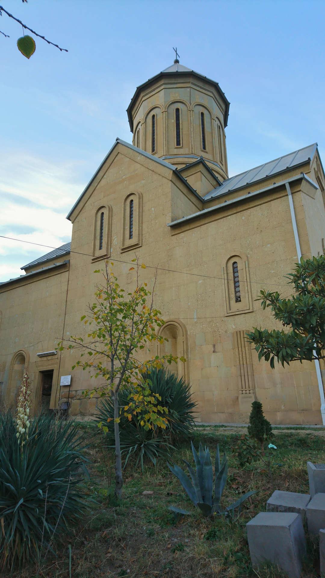 Zwiedzanie Tbilisi - kościół