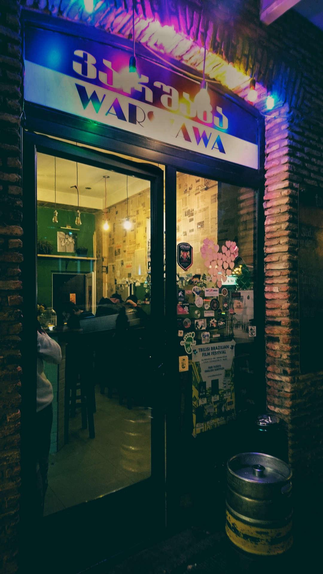 Zwiedzanie Tbilisi - bar Warszawa