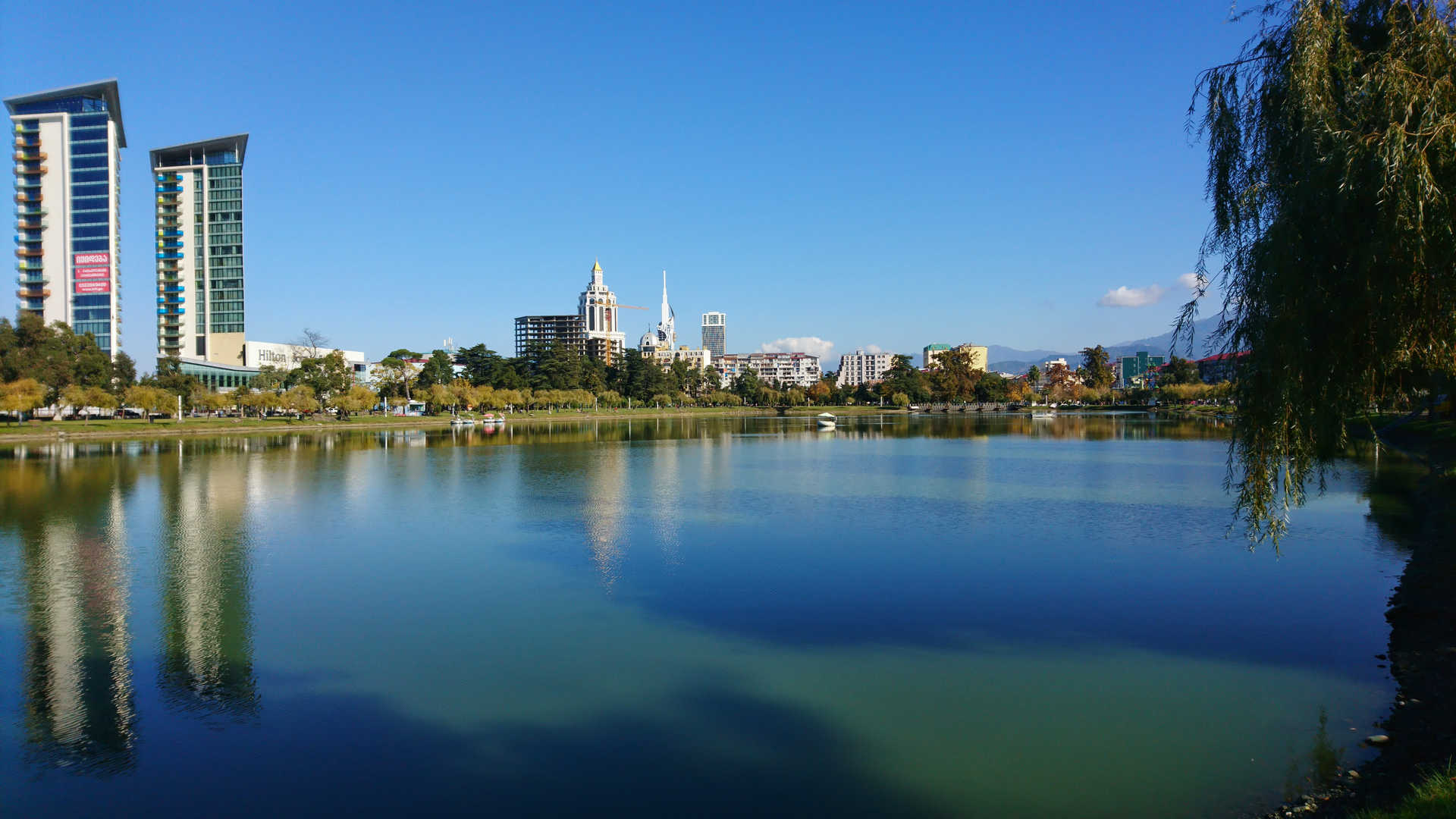 Batumi - jeziorko Nurigeli