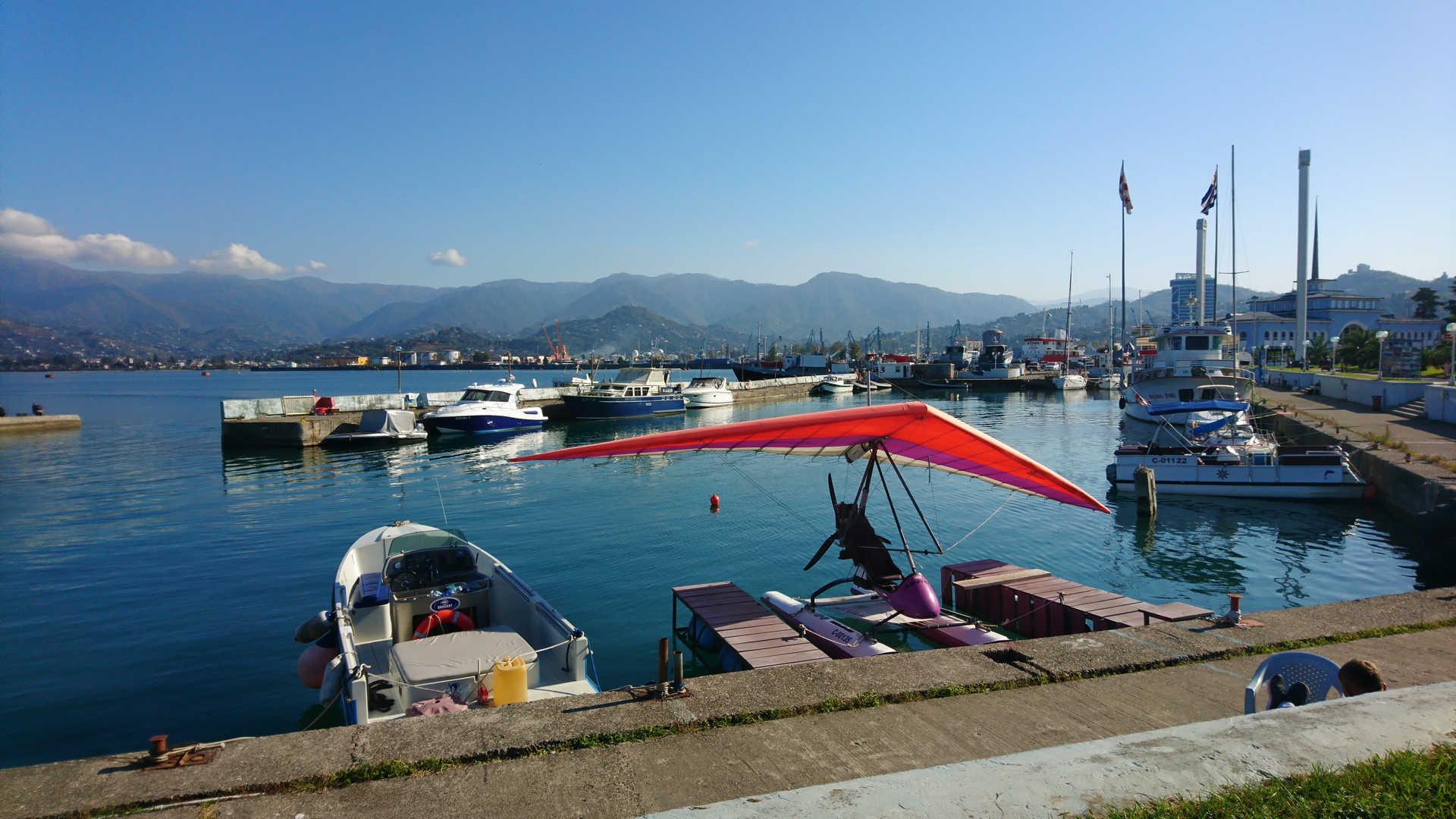 Batumi - port