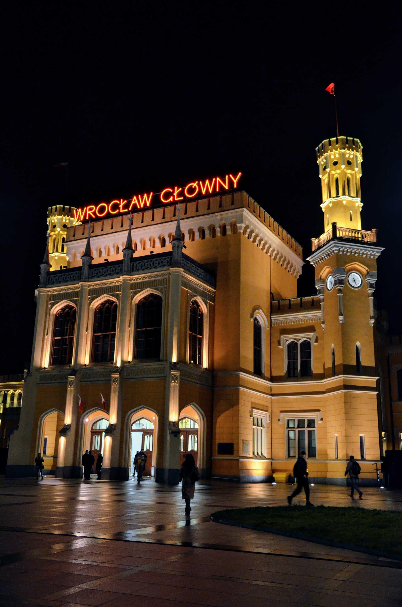 Czy warto iść na kurs fotografii - dworzec wrocław
