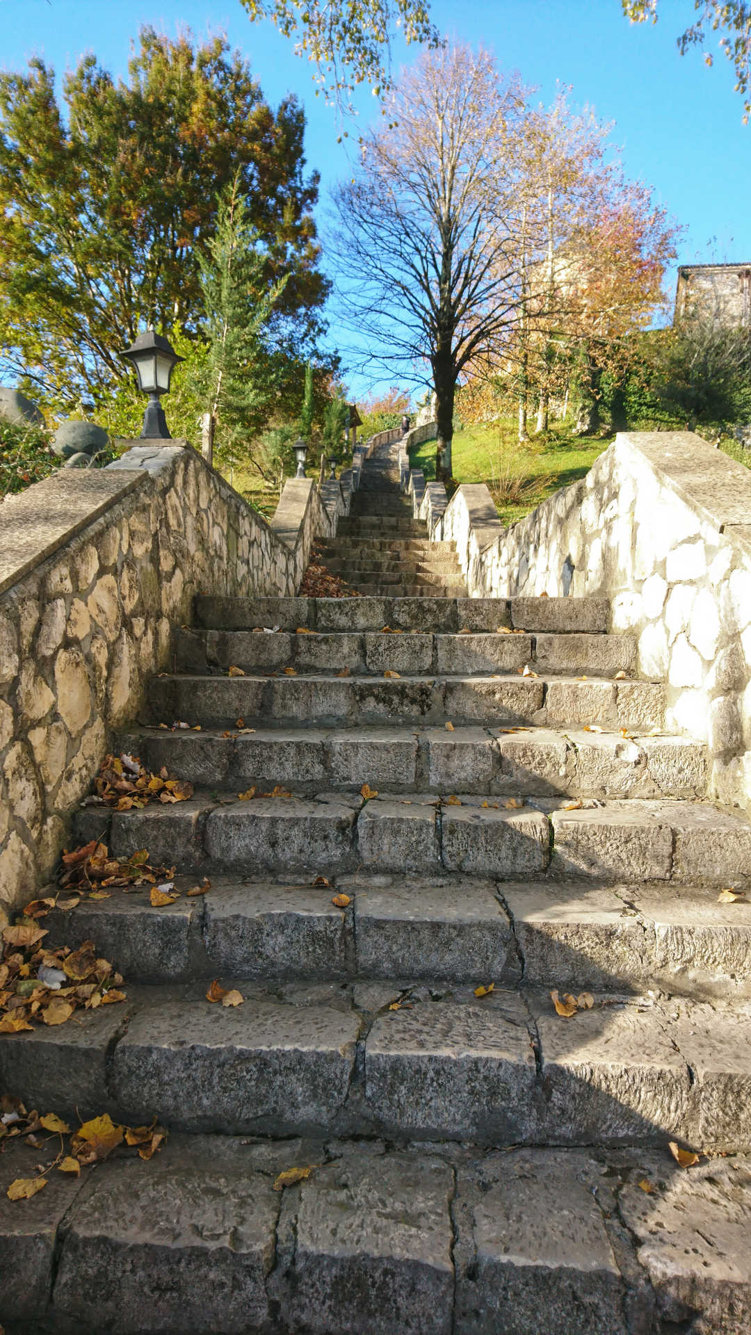 Kutaisi i okolice - monastyr Martvili schody
