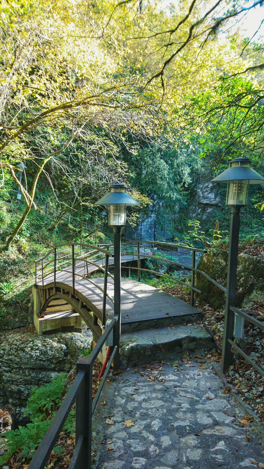 Kutaisi i okolice - kanion Martvili kładka