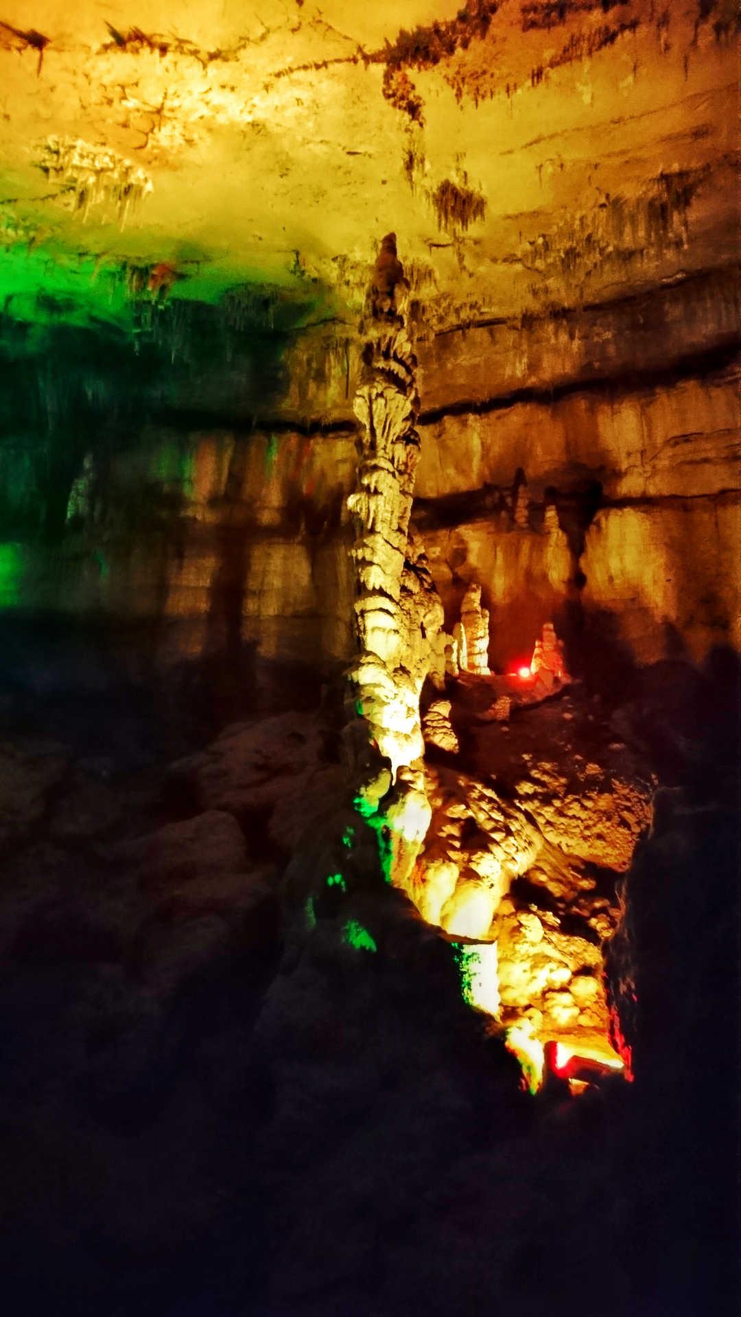 Kutaisi i okolice - rezerwat Sataplia - jaskinia