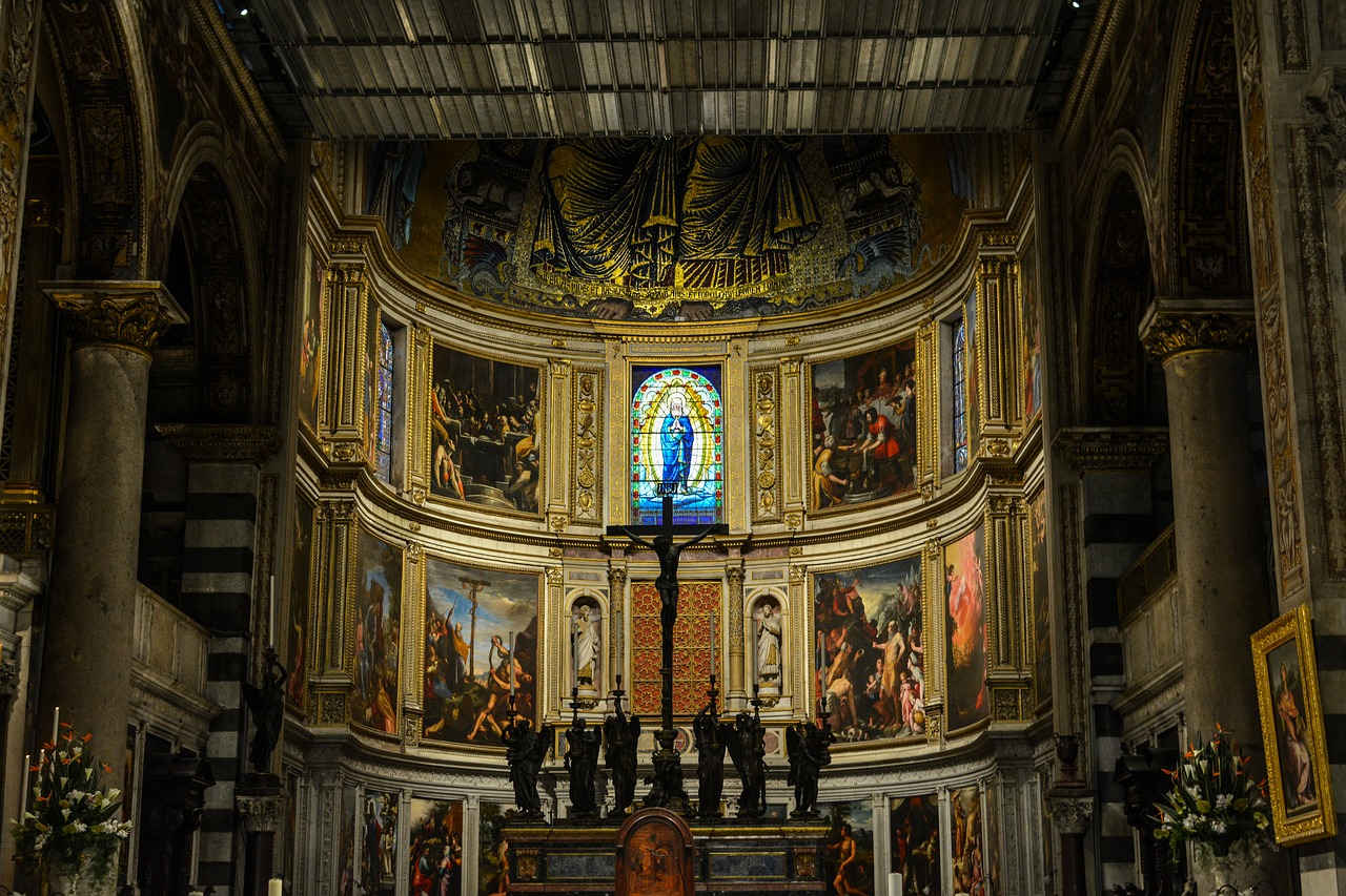 Piza w jeden dzień - katedra