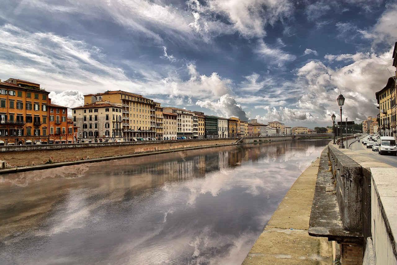Piza w jeden dzień - rzeka Arno