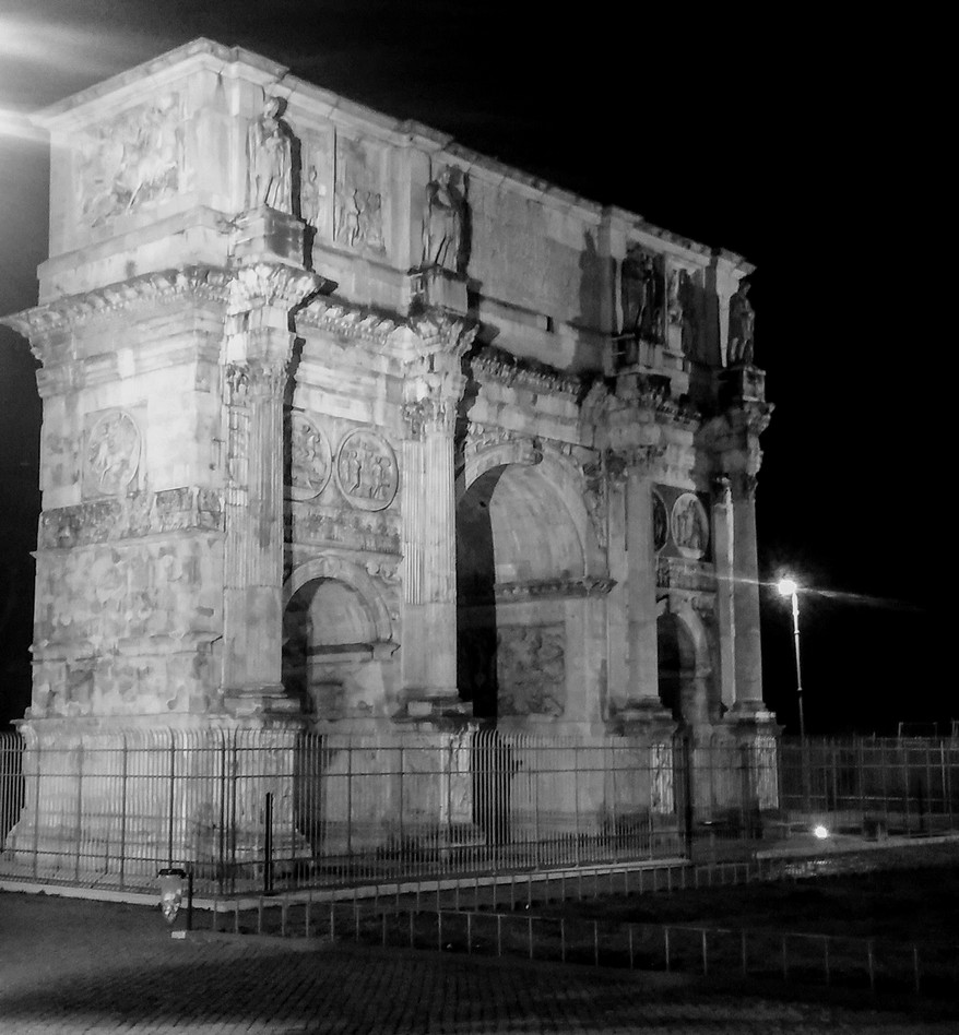 Rzym - łuk Tytusa