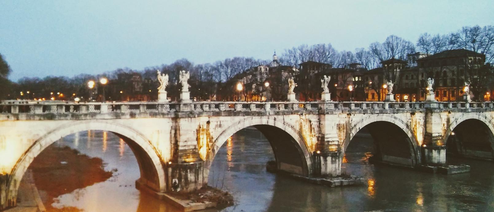 Rzym - most Świętego Anioła