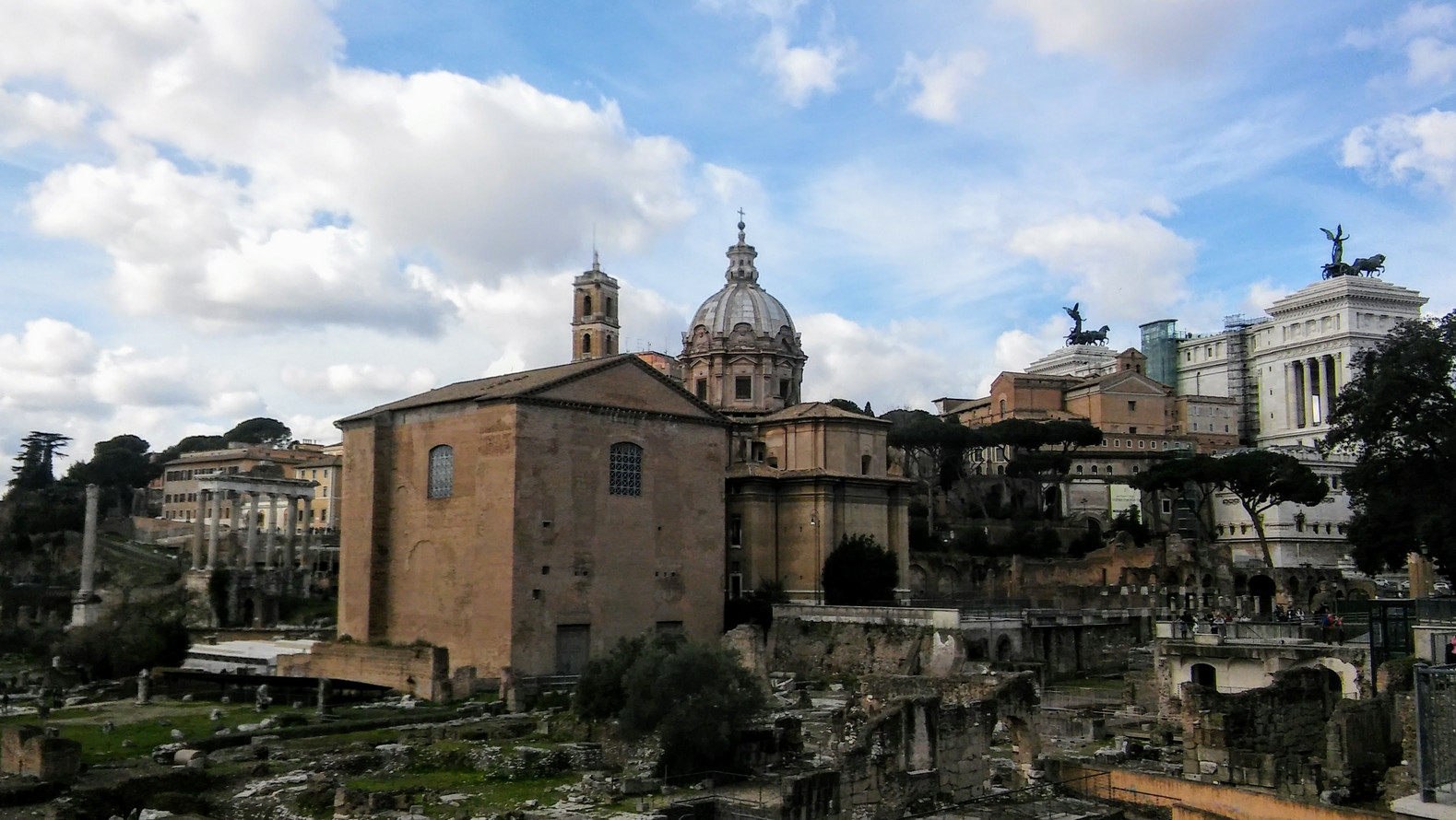 Rzym - Forum Romanum i Palatyn 1