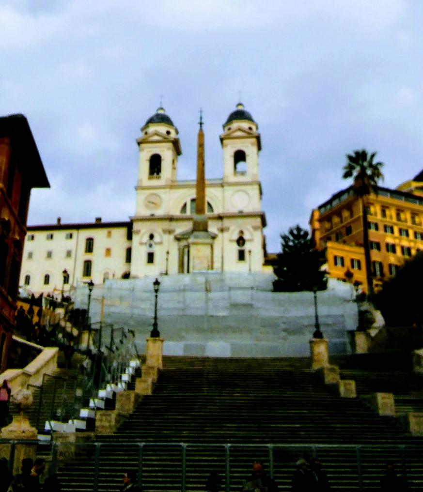 Rzym - Schody Hiszpańskie