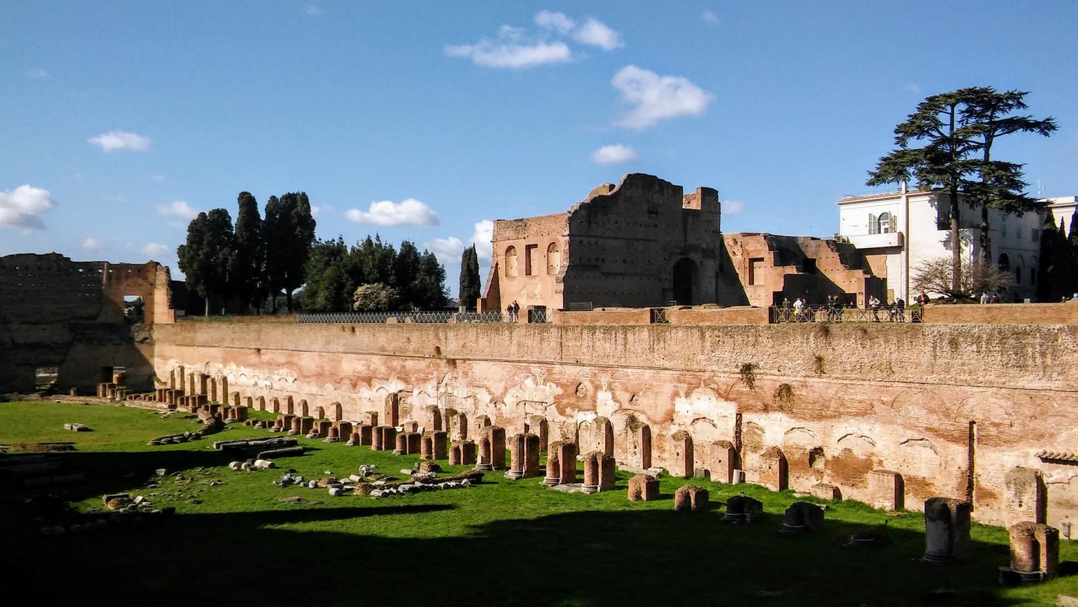 Rzym - Forum Romanum i Palatyn 2