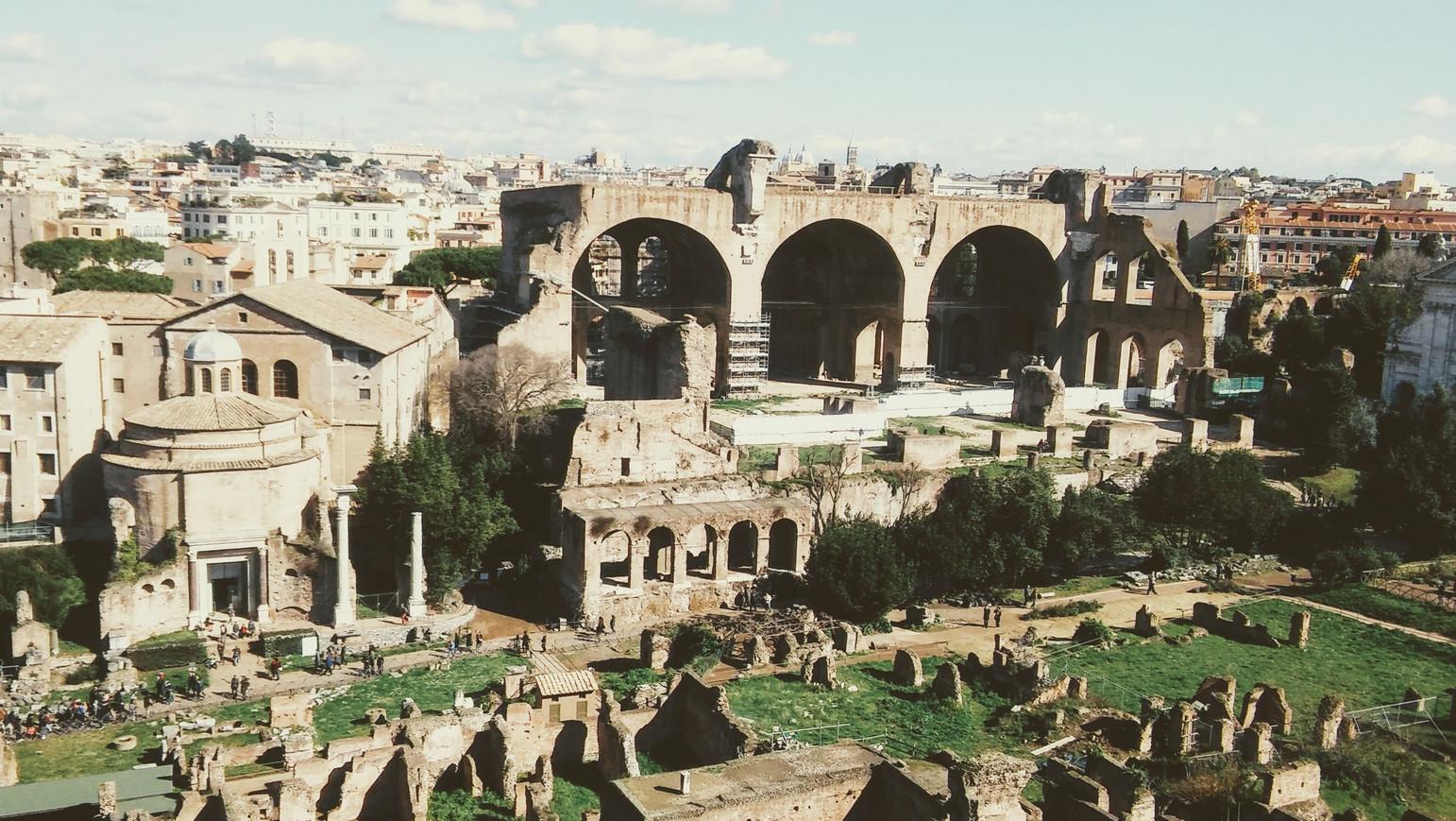 Rzym - Forum Romanum i Palatyn 3